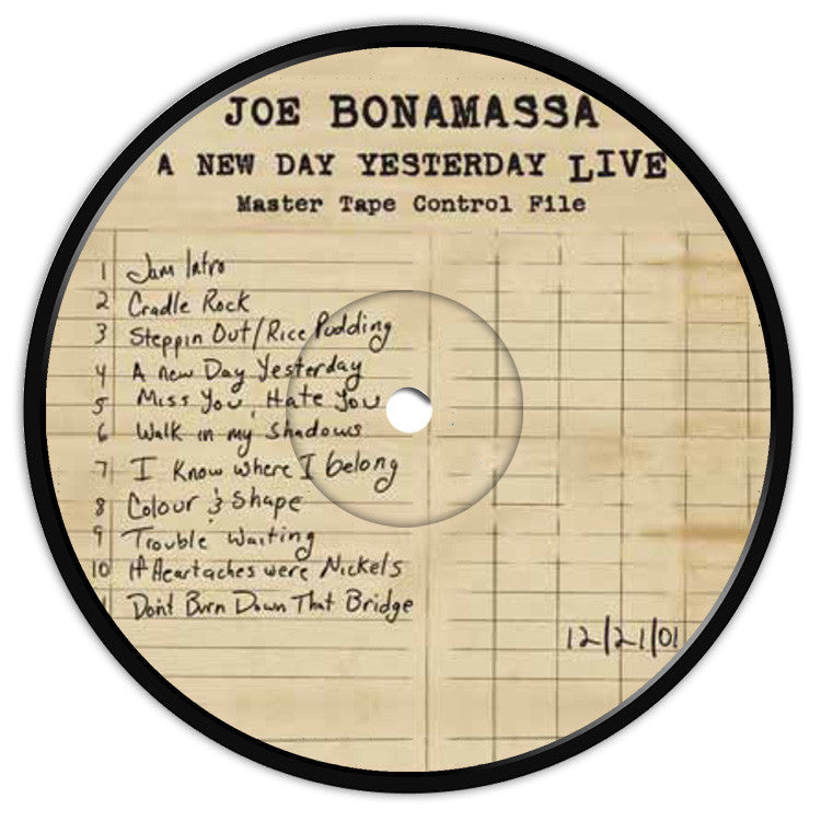 A New Day Yesterday Live Coaster / Fridge Magnet