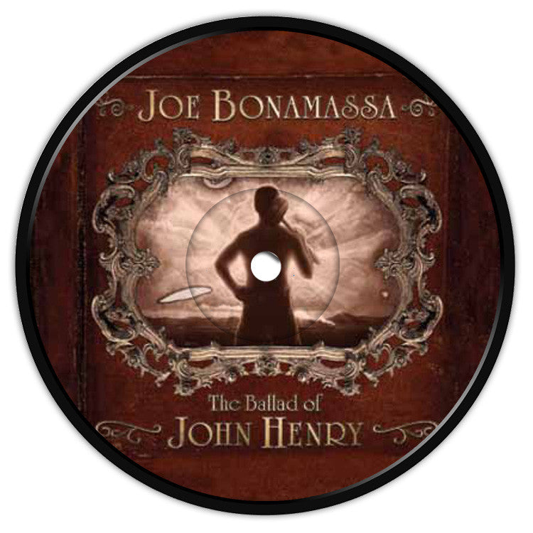 Ballad of John Henry Coaster / Fridge Magnet