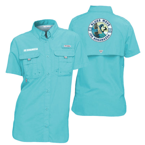 Columbia Bahama Clear Blue Short Sleeve - Blues Wave (Women)