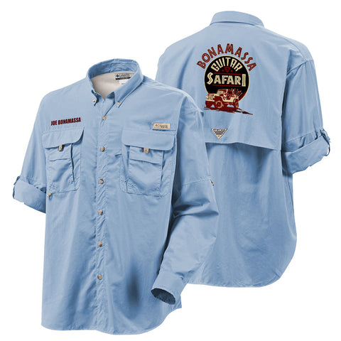 Columbia Bahama II Sail Long Sleeve - Bonamassa Guitar Safari (Men)