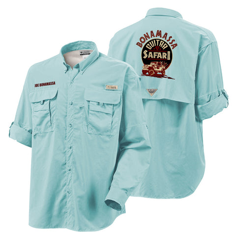 Columbia Bahama II Gulf Stream Long Sleeve - Bonamassa Guitar Safari (Men)