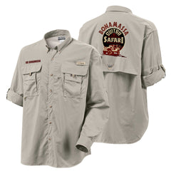Columbia Bahama II Fossil Long Sleeve - Bonamassa Guitar Safari (Men)