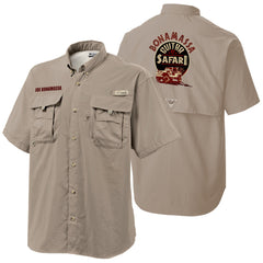 Columbia Bonehead Fossil Short Sleeve - Bonamassa Guitar Safari (Men)