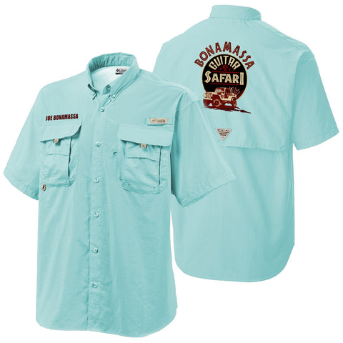 Columbia Bonehead Gulf Stream Short Sleeve - Bonamassa Guitar Safari (Men)