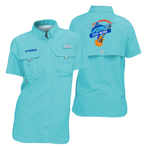 Columbia Bahama Clear Blue Short Sleeve - Reel Blues (Women)
