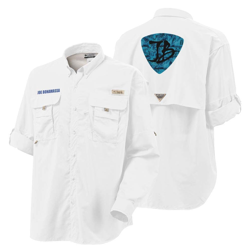 Columbia Bahama II White Long Sleeve - JB's Pick (Men)