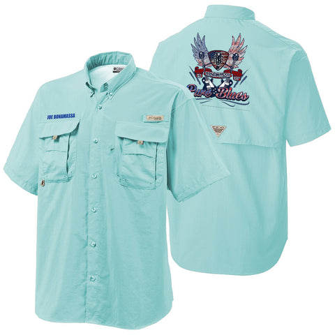 Columbia Bonehead Gulf Stream Short Sleeve - Pure Blues (Men)