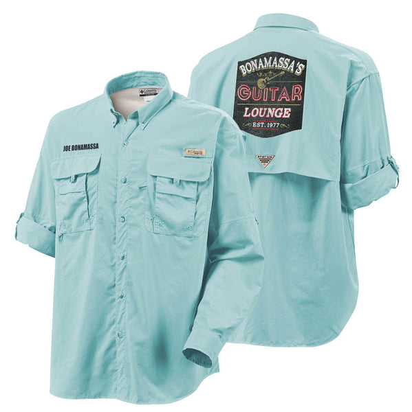 Columbia Bahama II Gulf Stream Long Sleeve - Bonamassa's Guitar Lounge (Men)