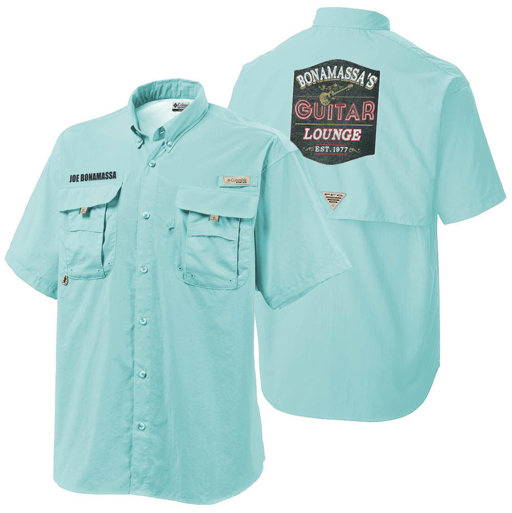 Columbia Bonehead Gulf Stream Short Sleeve - Bonamassa's Guitar Lounge (Men)