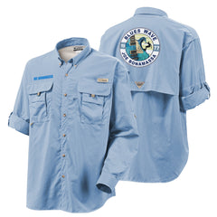 Columbia Bahama II Sail Long Sleeve - Blues Wave (Men)