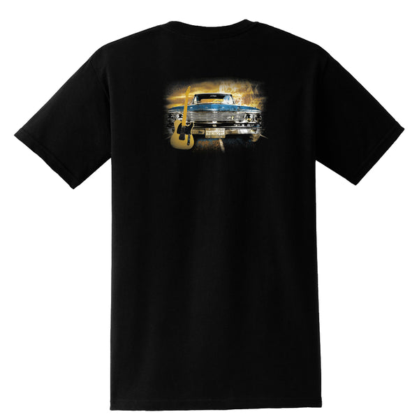 Cruisin' Blues Pocket T-Shirt (Unisex)