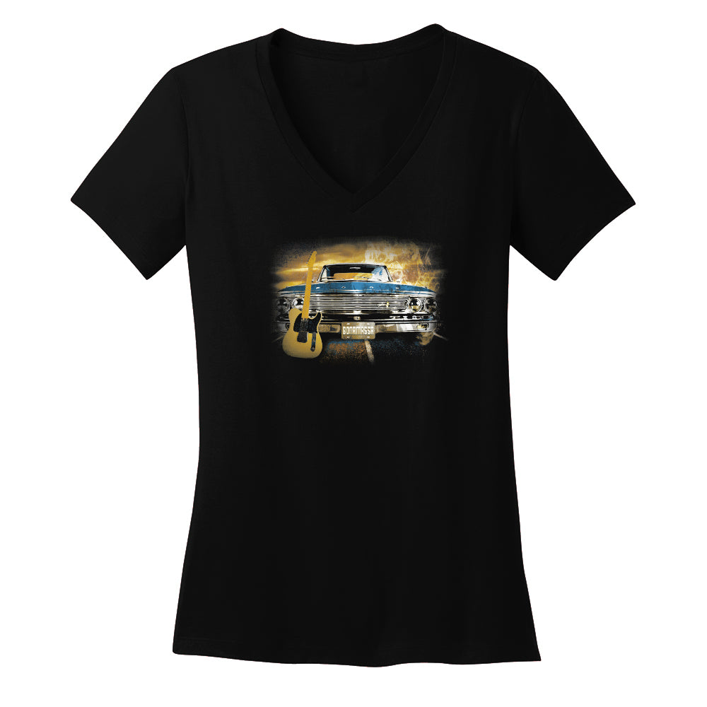 Cruisin' Blues V-Neck (Women)