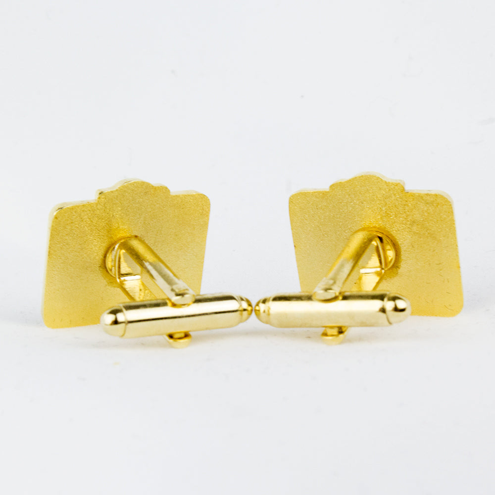 Amp Cuff Links (Gold)