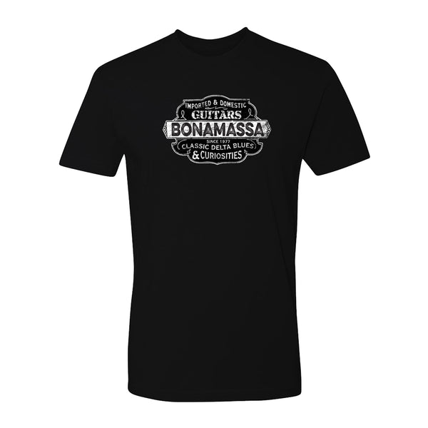 Blues & Curiosities T-Shirt (Unisex) - Black