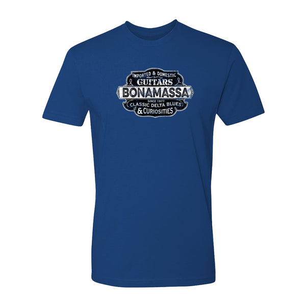 Blues & Curiosities T-Shirt (Unisex) - Royal