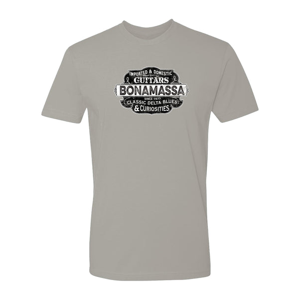 Blues & Curiosities T-Shirt (Unisex) - Light Grey