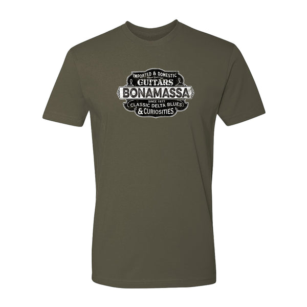 Blues & Curiosities T-Shirt (Unisex) - Military