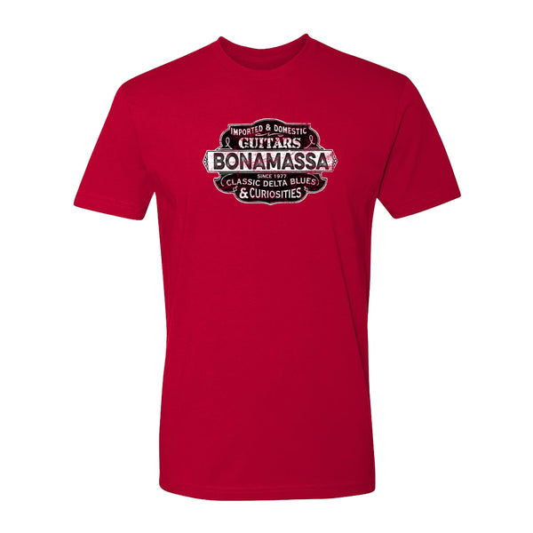 Blues & Curiosities T-Shirt (Unisex) - Red
