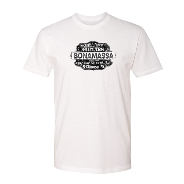 Blues & Curiosities T-Shirt (Unisex) - White
