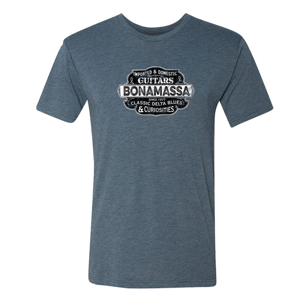 Blues & Curiosities Tri-Blend T-Shirt (Unisex) - Indigo