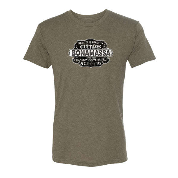 Blues & Curiosities Tri-Blend T-Shirt (Unisex) - Military