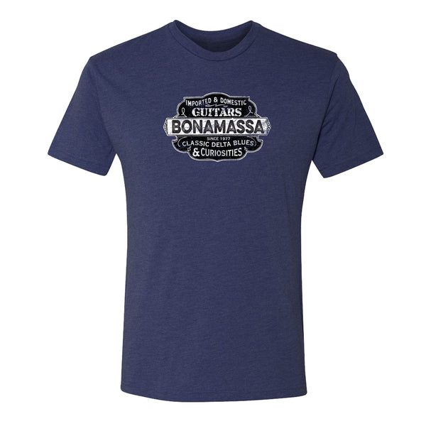 Blues & Curiosities Tri-Blend T-Shirt (Unisex) - Navy