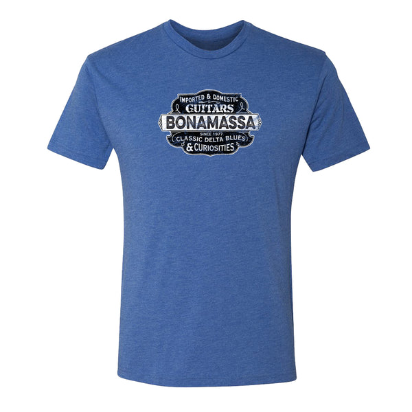 Blues & Curiosities Tri-Blend T-Shirt (Unisex) - Royal