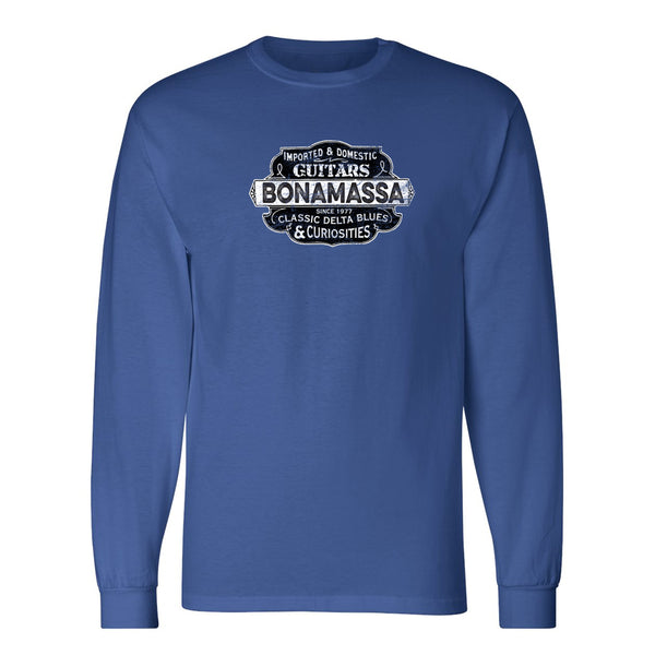 Blues & Curiosities Champion Long Sleeve T-Shirt (Unisex) - Royal