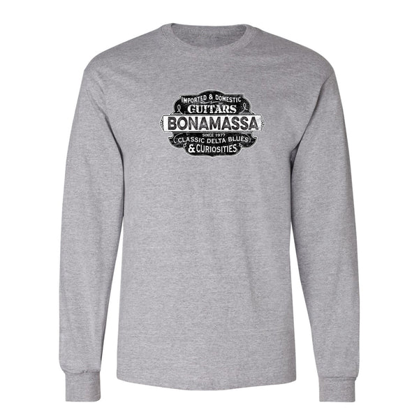 Blues & Curiosities Champion Long Sleeve T-Shirt (Unisex) - Steel