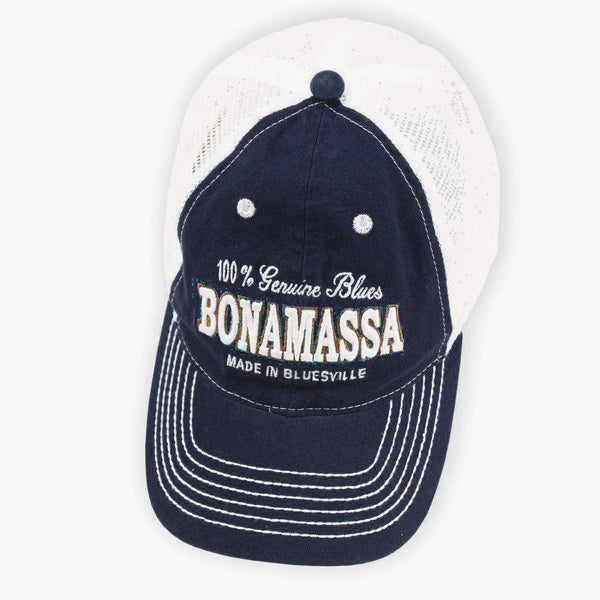 Genuine Blues Hat (Navy) - Bonamassa Custom Shop
