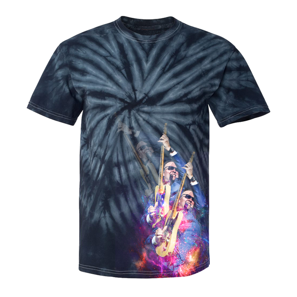 Triple Joe Tie Dye T-Shirt (Unisex) - Navy