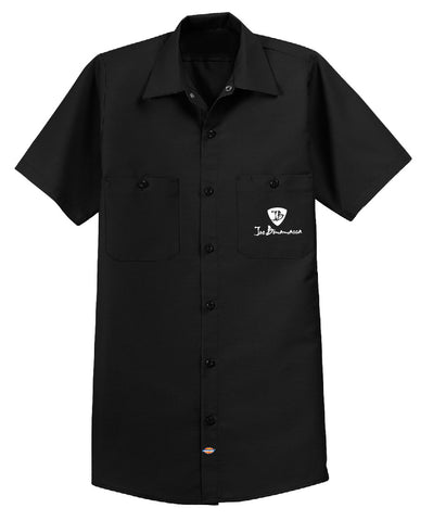 Joe Bonamassa Lucky Blues Dickies Short Sleeve Work Shirt