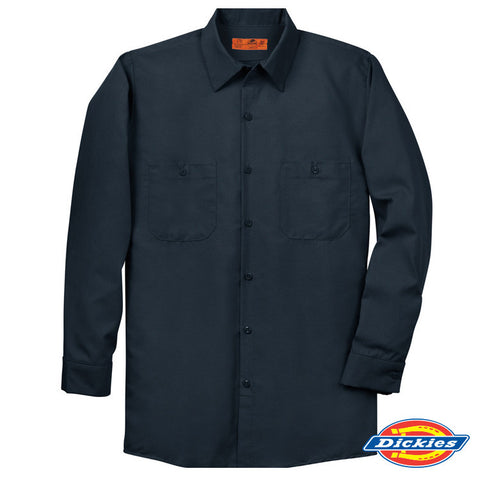 JB Top Notch Dickies Long Sleeve Work Shirt (Men)