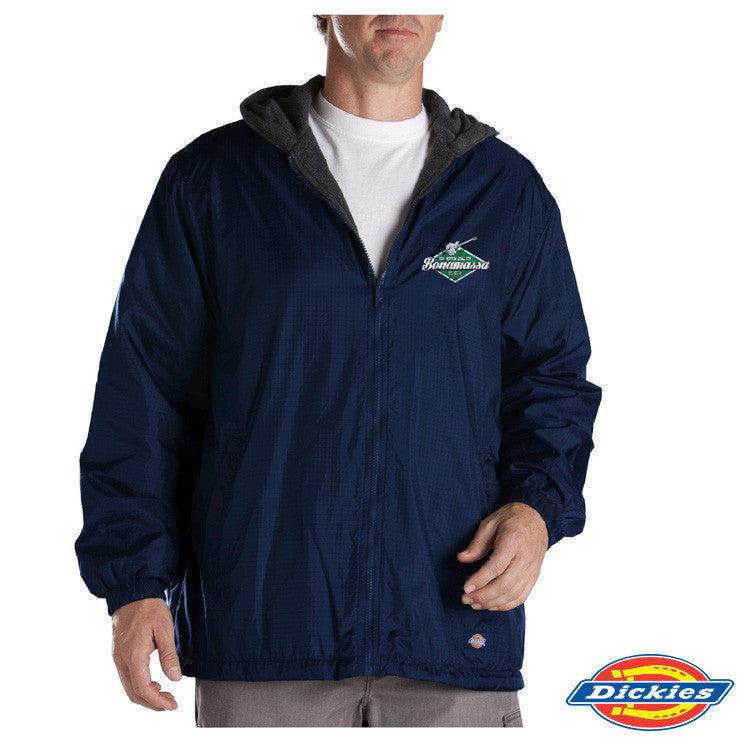 JB Top Notch Dickies Fleece-Lined Hooded Nylon Jacket (Men)