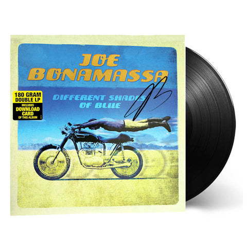 Joe Bonamassa: Different Shades of Blue (Vinyl) (Released: 2014) - Hand-Signed