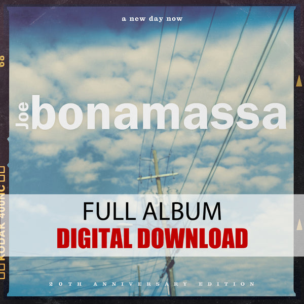 Joe Bonamassa: A New Day Now (Digital Album) (Released: 2020) ***PRE-ORDER***