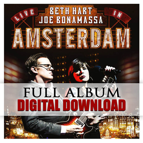 Beth Hart & Joe Bonamassa - Live In Amsterdam - Digital Album (Released: 2014)