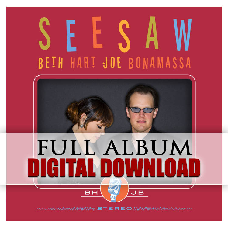 Beth Hart and Joe Bonamassa Seesaw- Digital Album (Released: 2013)