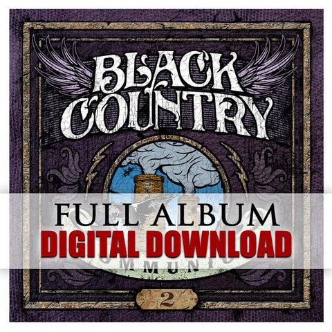 Black Country Communion - 2 </br> Digital Album</br>(Released: 2011)