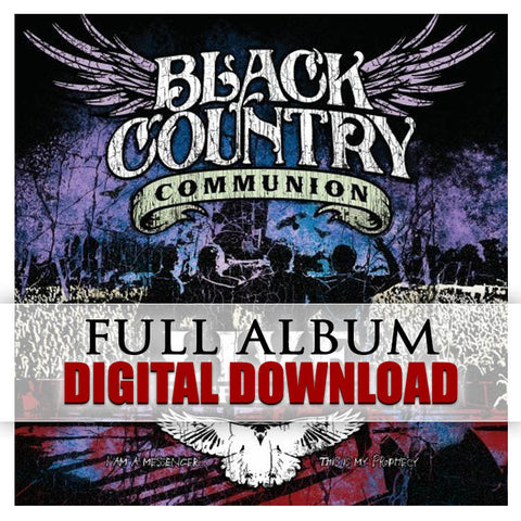 Black Country Communion - </br>Live Over Europe - Digital Album</br> (Released: 2012)