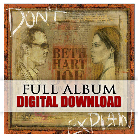 Beth Hart and Joe Bonamassa - </br>Don't Explain - Digital Album</br> (Released:2011)