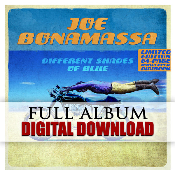 Different Shades of Blue (with Bonus Tracks) - Digital Album (Released 2014)