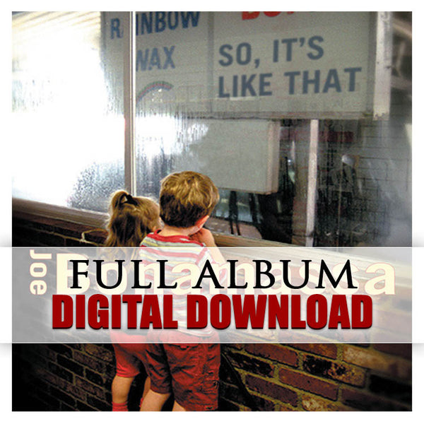 So It's Like That - Digital Album (Released: 2002)