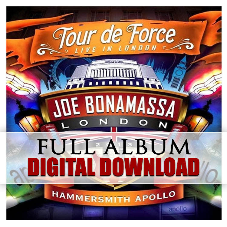 """Tour De Force - Live In London"" (HAMMERSMITH APOLLO) Digital Album Download (Released: 2014)"