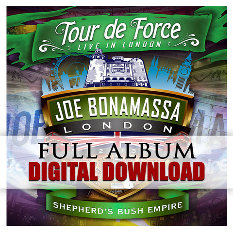 """Tour De Force - Live In London"" (SHEPHERD'S BUSH) Digital Album Download (Released: 2014)"