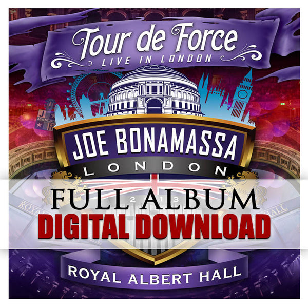 """Tour De Force - Live In London"" (ROYAL ALBERT HALL) Digital Album Download (Released: 2014)"