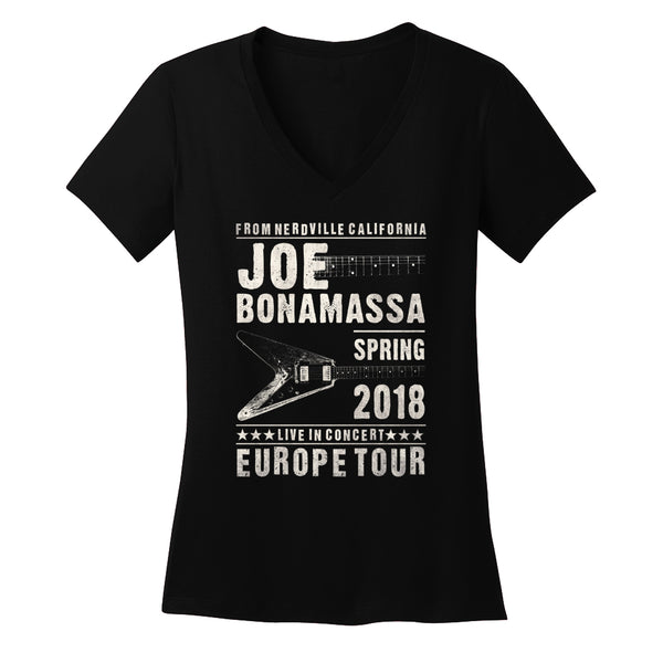 2018 Europe Tour V-Neck (Women)