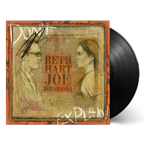 Beth Hart & Joe Bonamassa: Don't Explain (Vinyl) (Released: 2011) - Hand-Signed