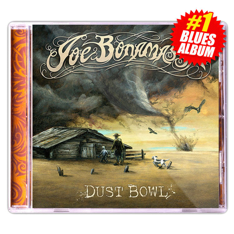 5390b96486b Joe Bonamassa  Dust Bowl (Studio CD) (Released  2011) – Joe Bonamassa  Official Store