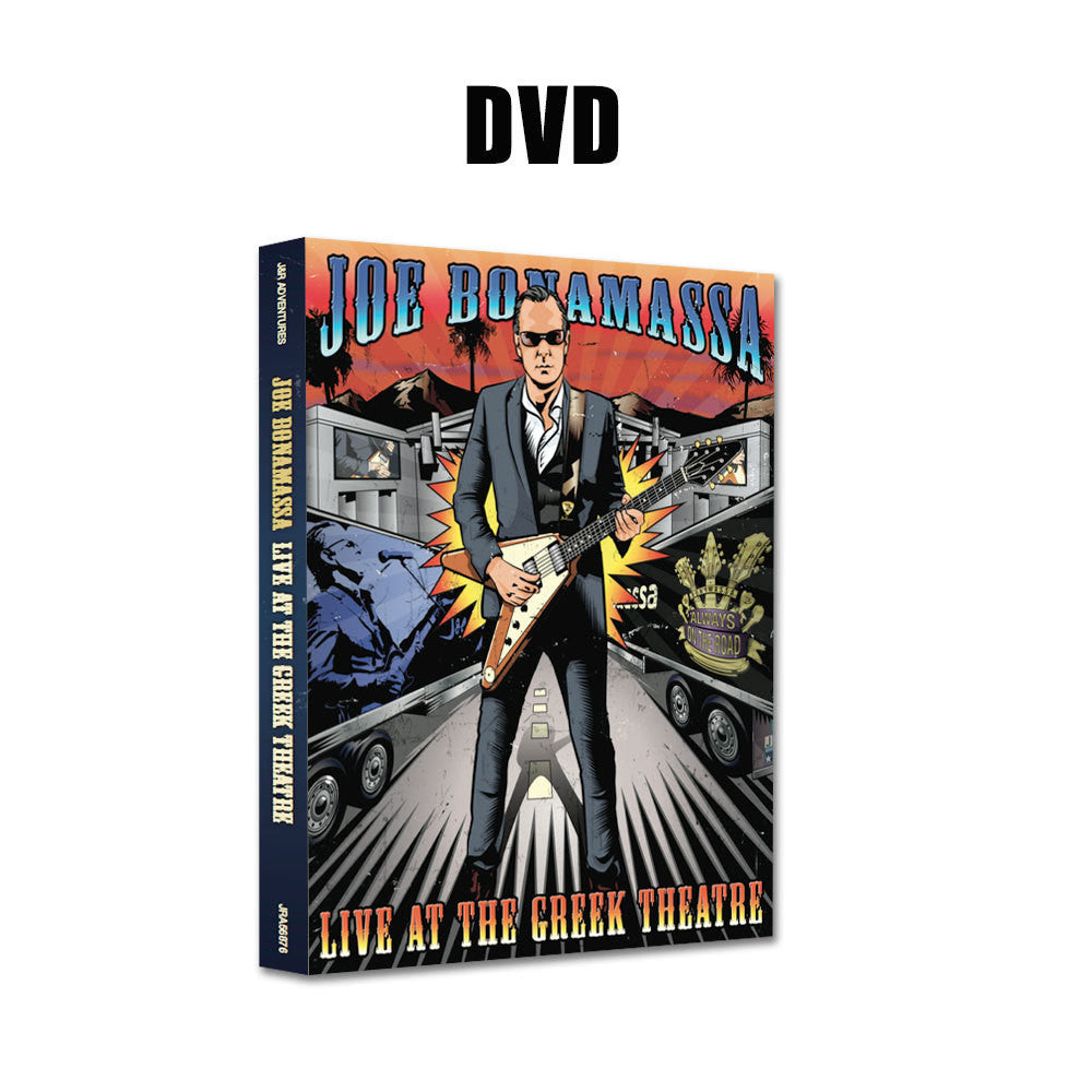 Joe Bonamassa: Live at the Greek Theatre (DVD) (Released: 2016)